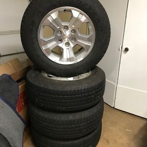 "Chevy Silverado Suburban Tahoe 18"" tire wheel set"